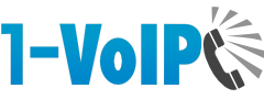 1-VoIP Business VoIP service provider logo